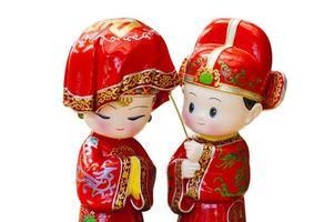 asiatische Hochzeitszeremonie foto