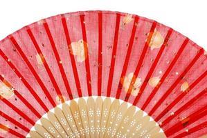 roter asiatischer Fan foto