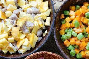 vietnamesisches Essen, gebratener Reis, asiatisches Essen
