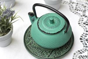 asiatische Teekanne foto