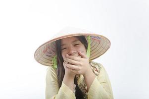 asiatischer Teenager foto