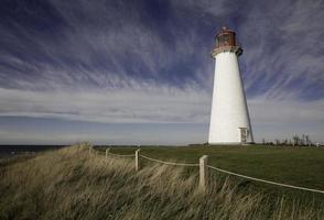 Leuchtturm, Prince Edward Island, Kanada foto