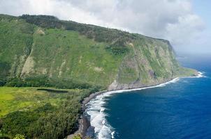 Waipo Bucht, Tal und Strand foto
