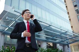 asiatischer Unternehmer foto