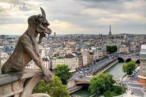 Chimäre von Notre Dame de Paris foto