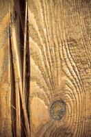 Holzwand als brauner Hintergrund oder Textur foto