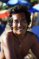 asiatischer Mann foto