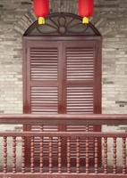 asiatische Tür