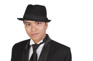 asiatischer Gangster foto