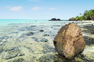 Landschaft der Rapota-Insel in den Aitutaki-Lagunen-Kochinseln