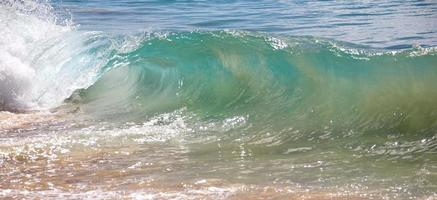 Wellen brechen foto