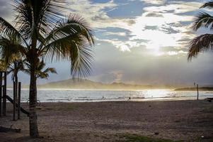 Galapagos. Isabella Insel Strand. foto