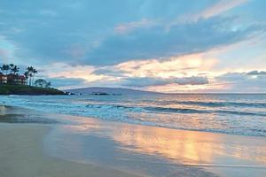 Wailea State Beach Sonnenuntergang