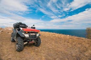 ATV auf dem See