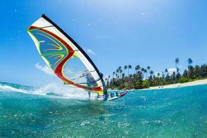 Windsurfen foto