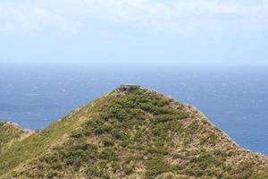 Bunker auf einem Hügel foto