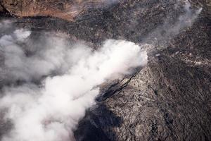 Kilauea bedroht Hawaii-Häuser foto