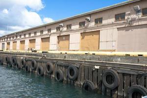 Bootsanleger im Yachthafen