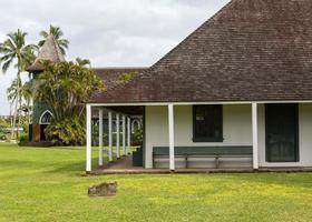 Waioli Huiia Missionshalle in Hanalei Kauai foto