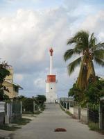 Leuchtturm im Tuamotus foto