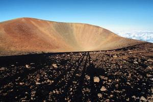 erloschener Vulkankrater foto