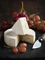 Käse und Trauben. foto