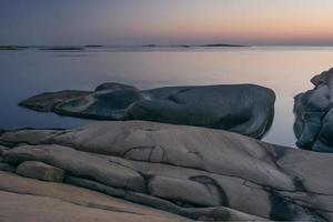 felsige Küste foto