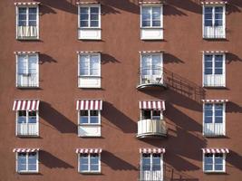 Fenster und Balkone