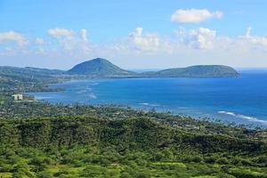 Blick auf den Koko-Krater vom Diamantkopf foto