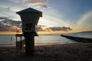 Waikiki Rettungsschwimmerstation foto