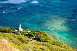 Leuchtturm Hawaii foto