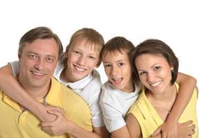 glückliche Familie foto