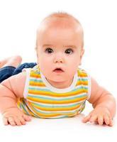 glückliches kleines Baby foto