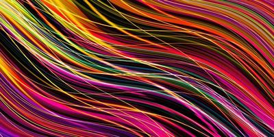 Streifen und Linien auf einem dunklen Hintergrund foto