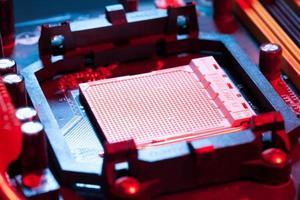 Motherboard-CPU foto