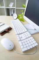 Schreibtischbild im Büro foto