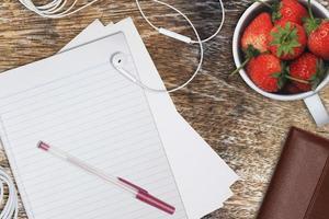 Schreibtischarbeit foto