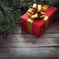 Geschenk für Weihnachten foto