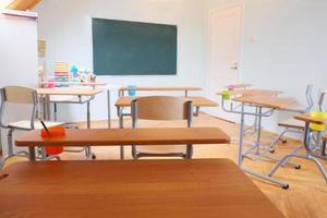 Klassenzimmer Interieur