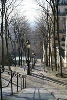 Paris Montmartre Treppe