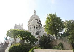 basilique du sacré-coeur, paris foto
