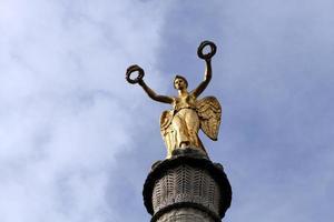 goldener gelobter Engel foto