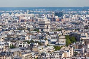 Stadtbild von Paris foto