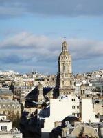 Ansicht von Paris foto