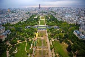 Blick über Paris foto
