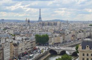 Panoramablick auf Paris, Frankreich
