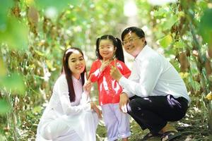 glückliche Familienmomente foto