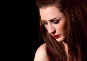 Modeporträt foto