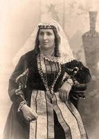 Vintage Porträt. foto