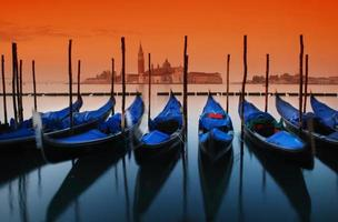 venezianischer Sonnenaufgang foto